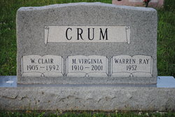 M Virginia <i>Wilson</i> Crum