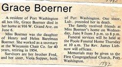 Grace Boerner