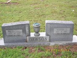 Martha E. <i>Fielder</i> Dawson