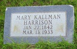 Mary <i>Kallman</i> Harrison