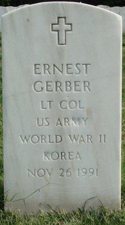 LTC Ernest Gerber
