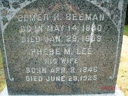 Phebe M <i>Lee</i> Beeman