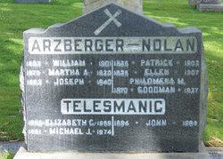 Martha A Mattie <i>Nolan</i> Arzberger