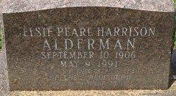 Elsie Pearl <i>Harrison</i> Alderman