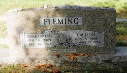 Leona <i>Lowther</i> Fleming