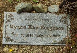 Myrna Kay <i>Church</i> Bergeson
