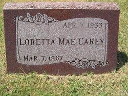 Loretta Mae Carey