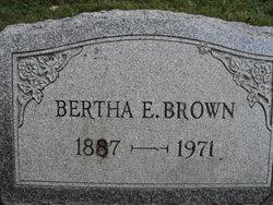 Bertha E. Brown