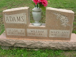 Bessie Y Adams
