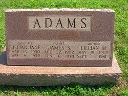 Lillian Jane Adams