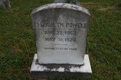 Elizabeth Graves Lizzie <i>Brockman</i> Powell