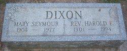 Mary <i>Seymour</i> Dixon