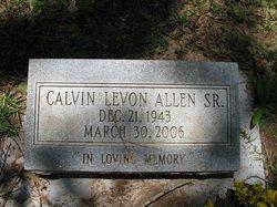 Calvin Levon Allen, Sr