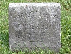 Christiana E. <i>Hill</i> Anderson