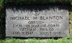 LCpl Michael Merle Blanton