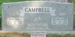 Malcolm L Campbell