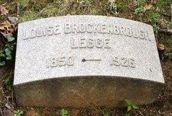 Louise C. <i>Brockenbrough</i> Legge