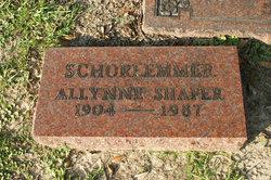 Allynne <i>Shafer</i> Schorlemmer