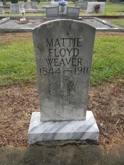 Martha Mattie <i>Floyd</i> Weaver