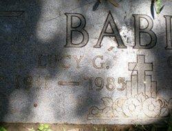 Lucy <i>Gros</i> Babin