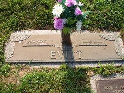 Amanda Elizabeth Betsy <i>Tollett</i> Evitt