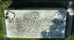 Spec Wyman Byrd Coleman
