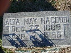 Alta May Hagood
