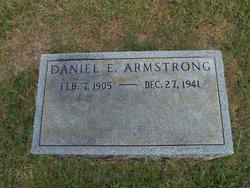 Daniel E Armstrong, Sr