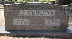 Martha A. <i>George</i> Dickinson