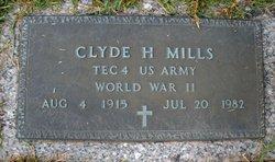 Clyde Henry Mills