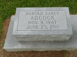 Harold Early Adcock