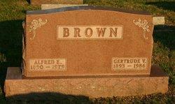 Gertrude Viola Gertie <i>Kinzer</i> Brown