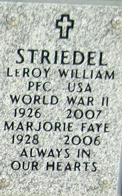 Leroy William Striedel