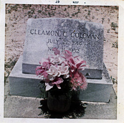 Cleamon Claudius Coleman