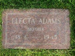 Electa <i>Allen</i> Adams
