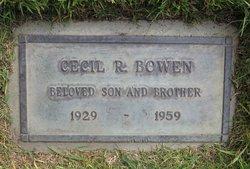 Cecil Ray Bowen
