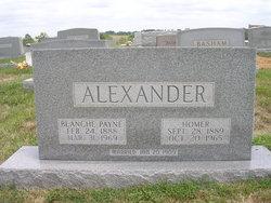 Blanche <i>Payne</i> Alexander