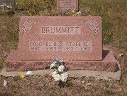 Ethel Goldie <i>Loney</i> Brummitt