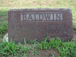 Milton Willis Baldwin