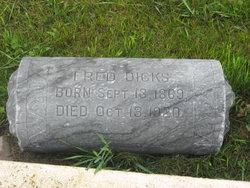 Frederick Fred Dicks