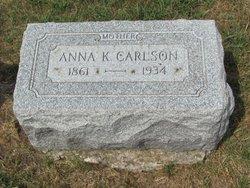 Anna <i>Jonson</i> Carlson