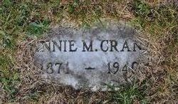 Annie M <i>Crane</i> Crane