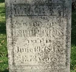 Mary <i>Delamater</i> Montross