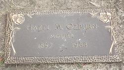 Hazel Mercedese <i>Nelson</i> Ozburn