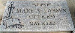 Mary Ailene <i>Lord</i> Behney Larsen