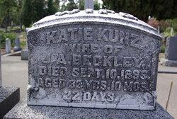 Katherine Frances Katie <i>Kunz</i> Beckley