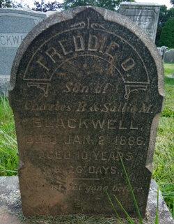 Freddie O. Blackwell