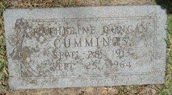 Katherine <i>Duncan</i> Cummings