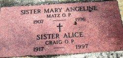 Sr Alice Craig