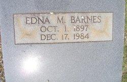 Edna M. <i>McEachern</i> Barnes